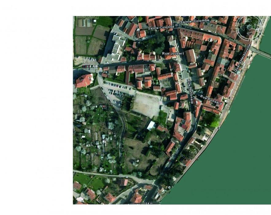 le site du projet urbain