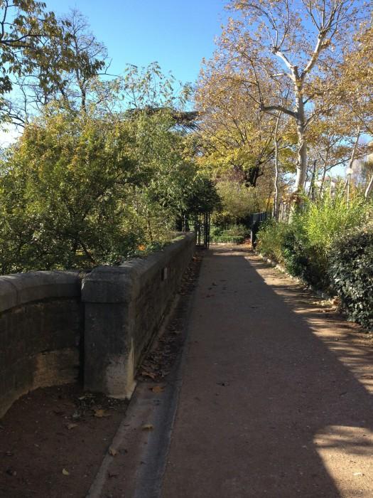 un jardin promenade sur les balmes de la Saône