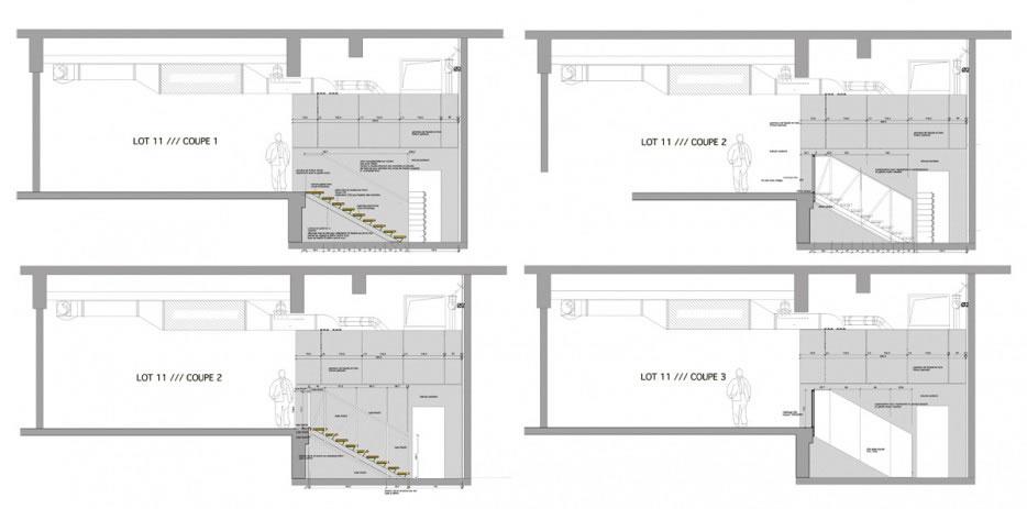 détail escaliers