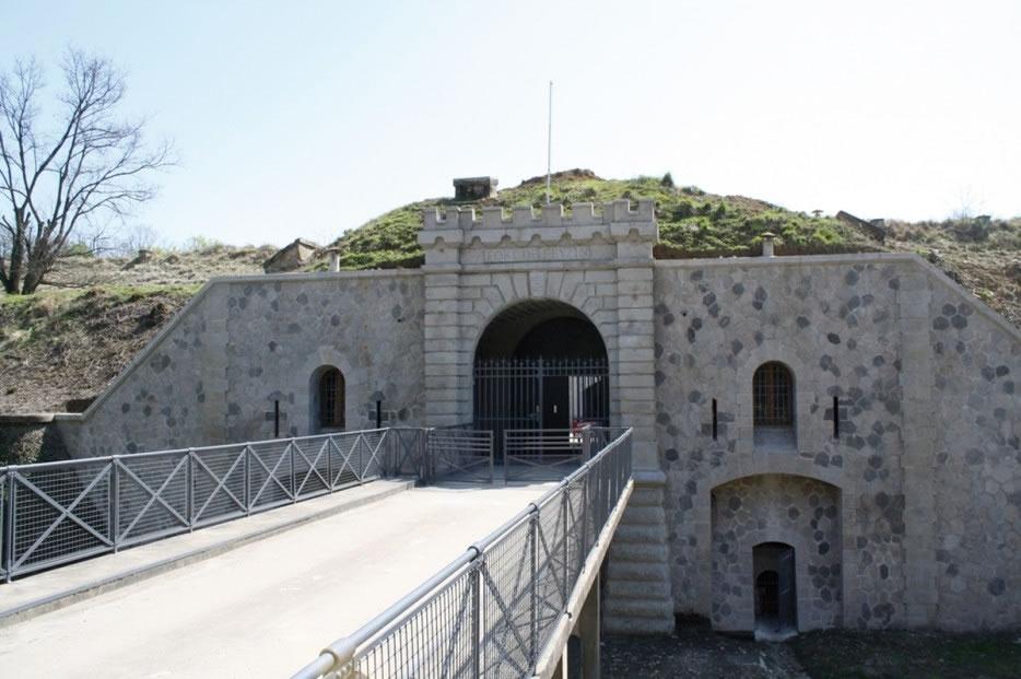 la façade d'entrée